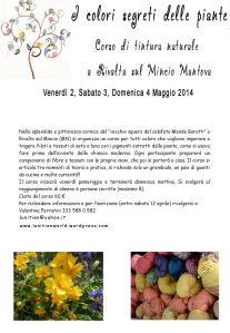 corso tintura naturale Mantova