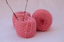 Merinos baby rosa baby 3 gomitoli da 50 gr l'uno