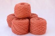 Merinos baby arancione chiaro 5 gomitoli da 50 gr l'uno