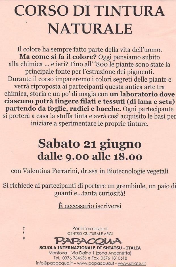 Segnatevi la data : 21 giugno Mantova